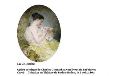 La Colombe de Gounod