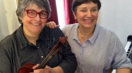 Francine Trachier et Françoise Tillard