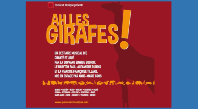 Ah Les girafes !