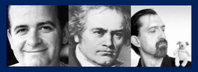 Trois compositeurs